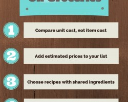 5 Tips for Saving Money on Groceries