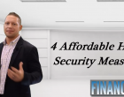 Four Affordable Home Security Measures